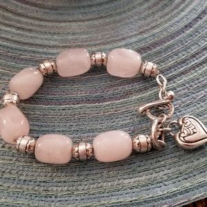 Brighton Rose Quartz Bracelet